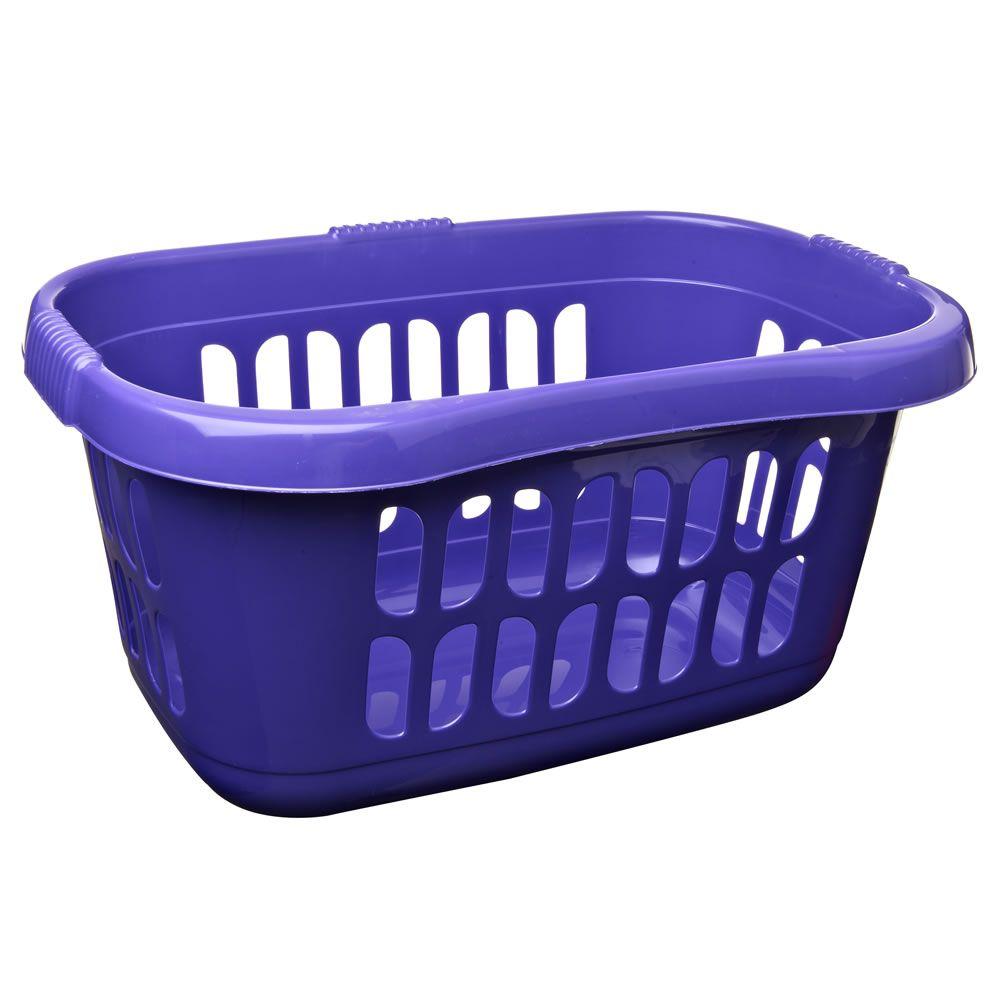 Purple Laundry Basket Laundry Basket Plastic Laundry Basket