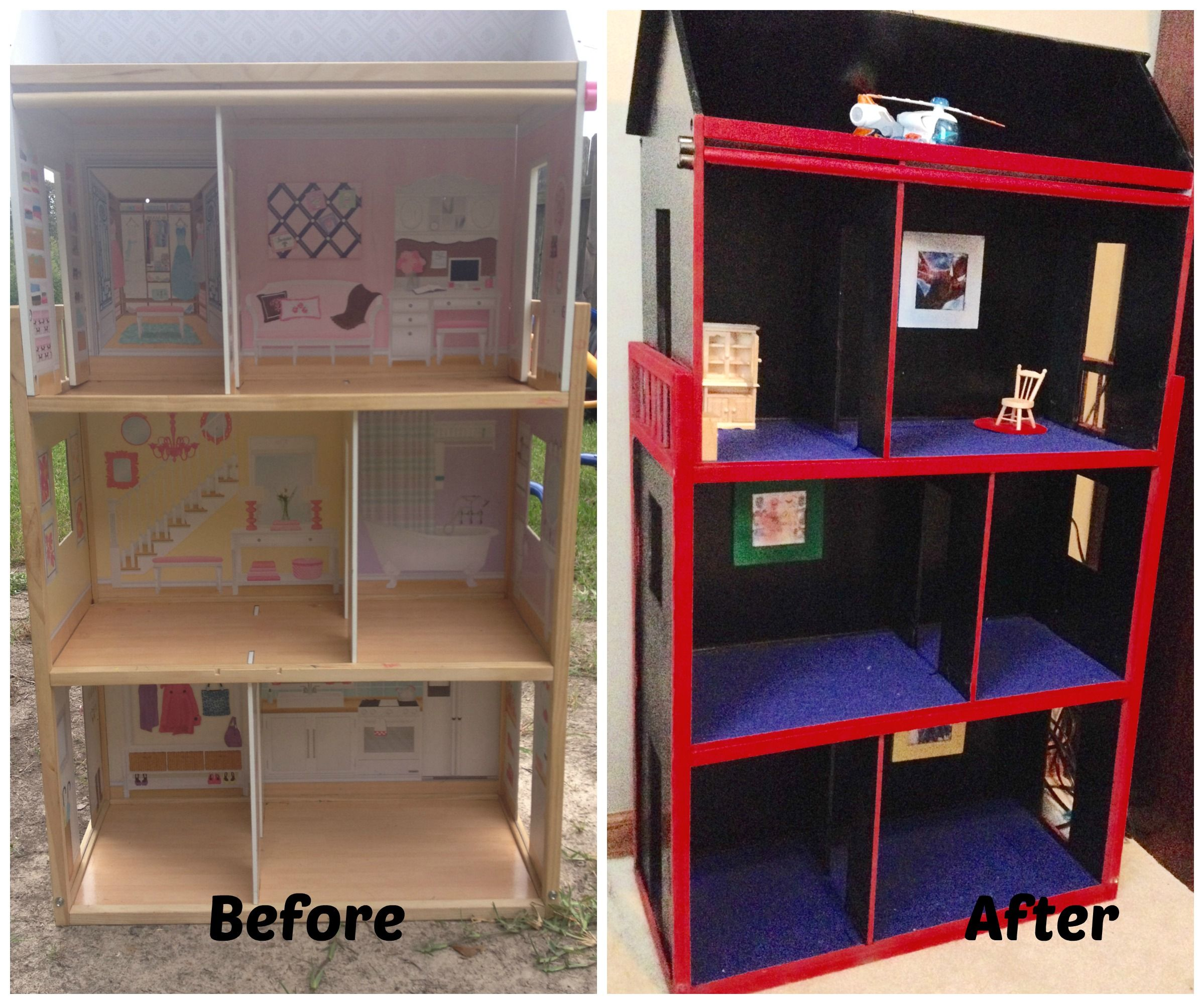 I Always Wanted A Boy Dollhouse For My Boys But There Aren T Too