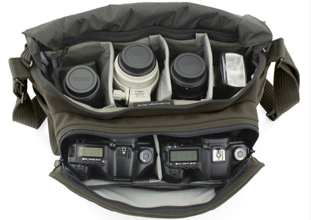 Pro Messenger AW Series by Lowepro: Functional and understated with a flat profile. #Camera_Bag #Lowepro