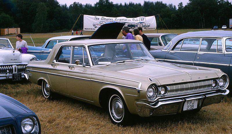 1964 Dodge Polara 4 Door Sedan Sedan Family Car Mopar
