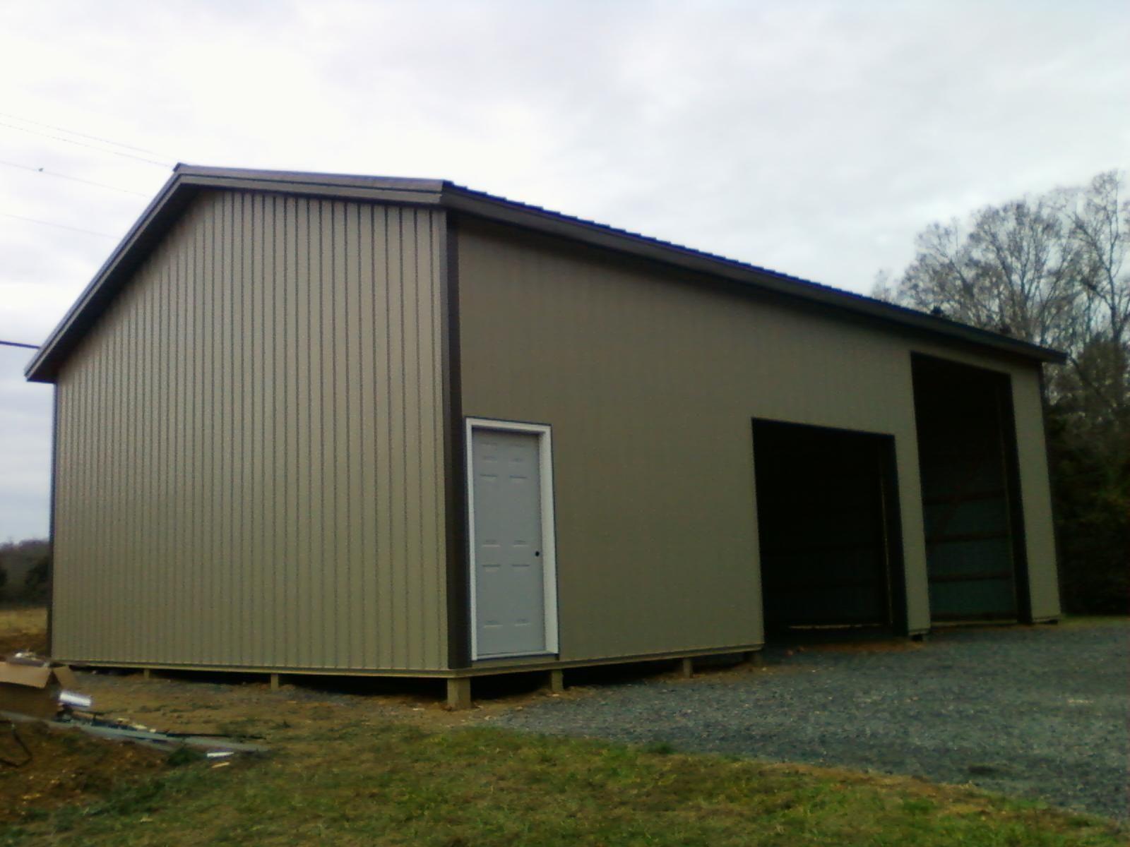 30x40x14 post frame building www nationalbarn com barns
