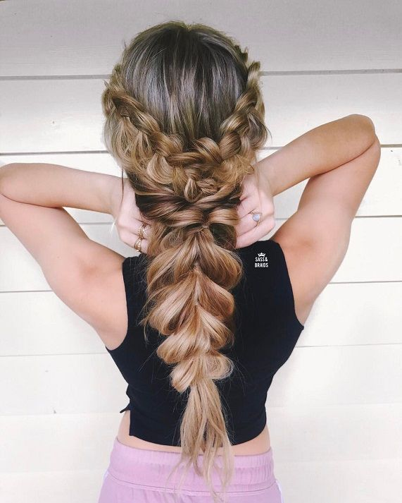 Dutch braids and loose rope hairstyleeasy half up half down dutch braids and loose rope hairstyleeasy half up half down hairstylesboho hairstyleseasy hairstyle do it yourself at home hair make up pinterest solutioingenieria Image collections