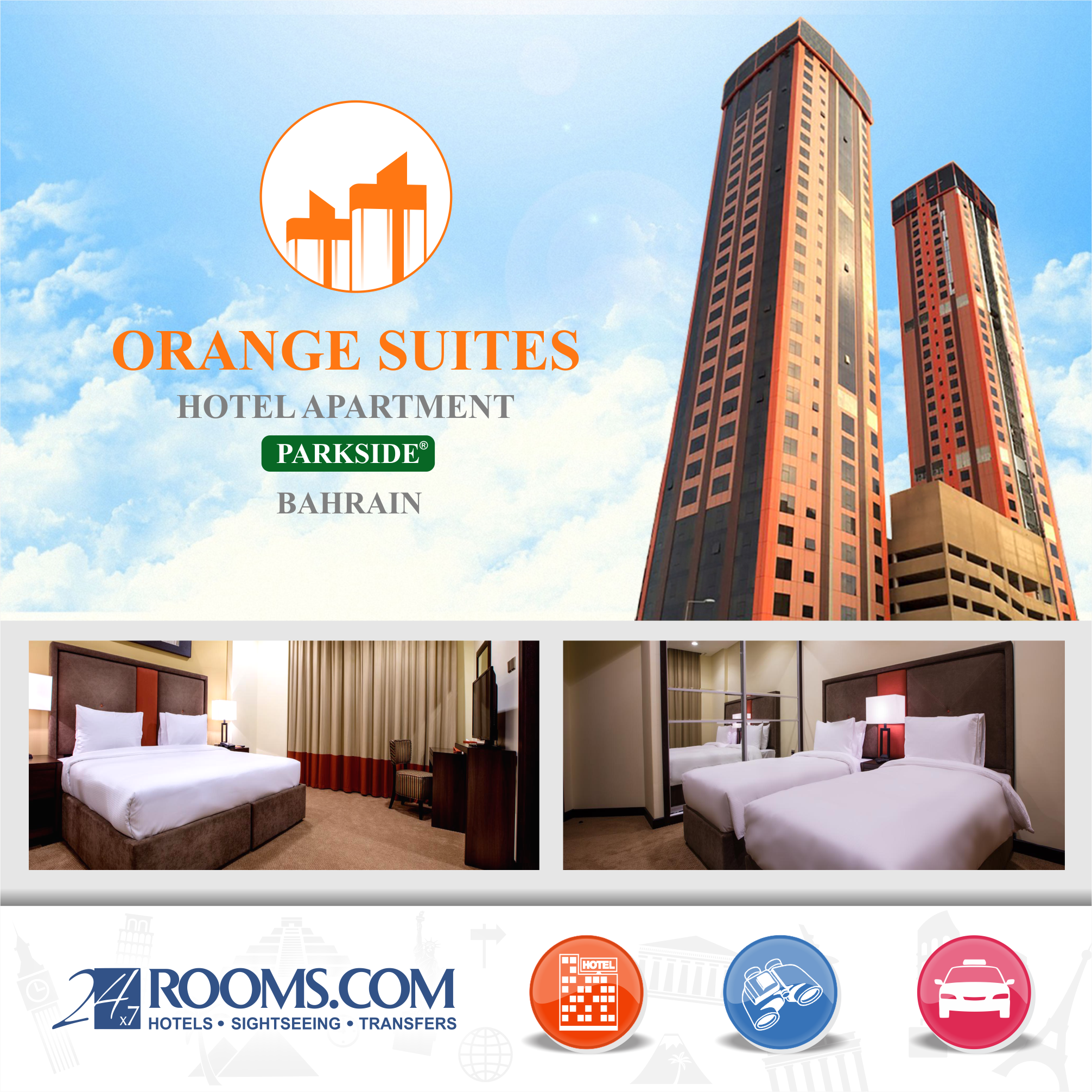 Book Orange Suites Hotel Apartment Bahrain With 24x7rooms Co Uk