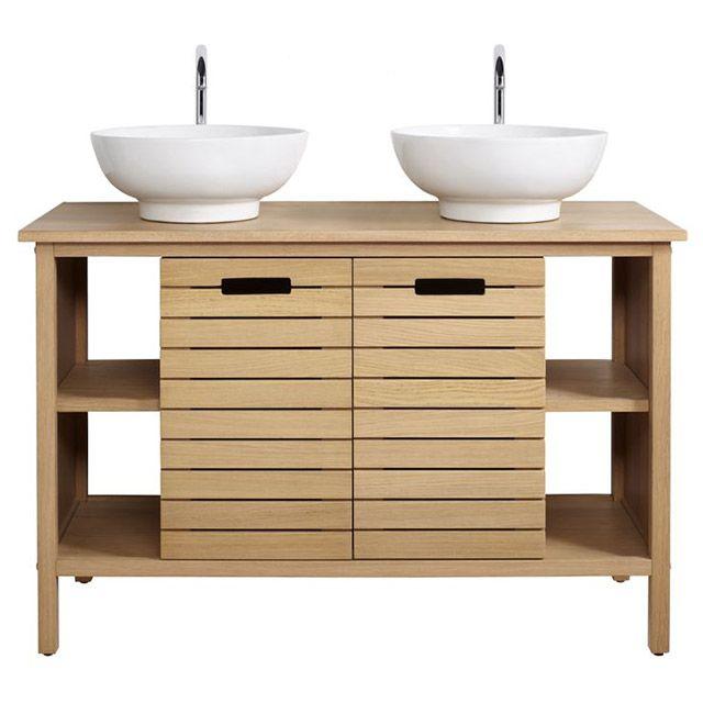 TINN Castorama | Meuble sous vasque, Meuble de salle de bain, Meuble salle de bain