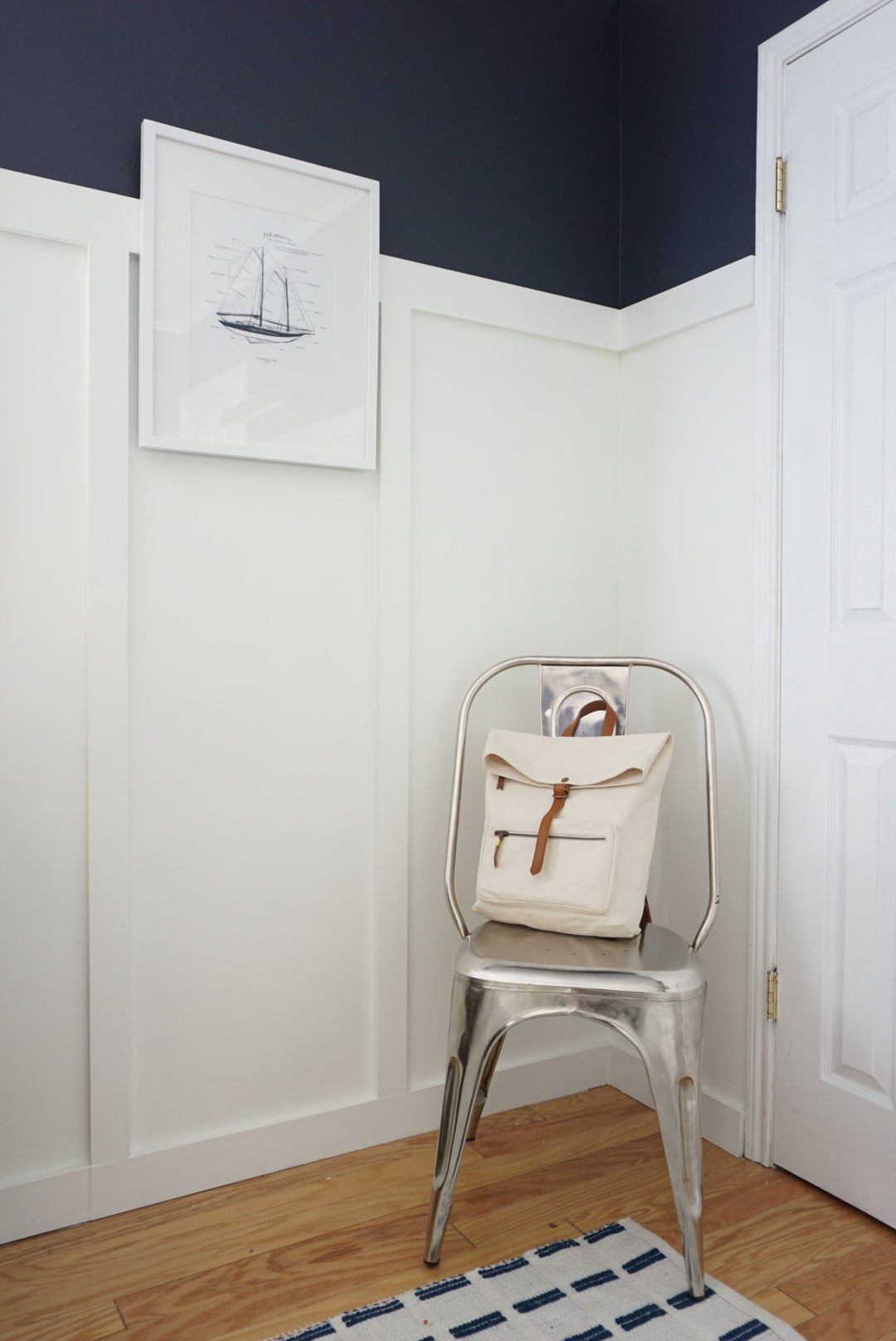 Sophisticated Modern Nautical Nursery: T's Classic D.C. Nursery In 2019