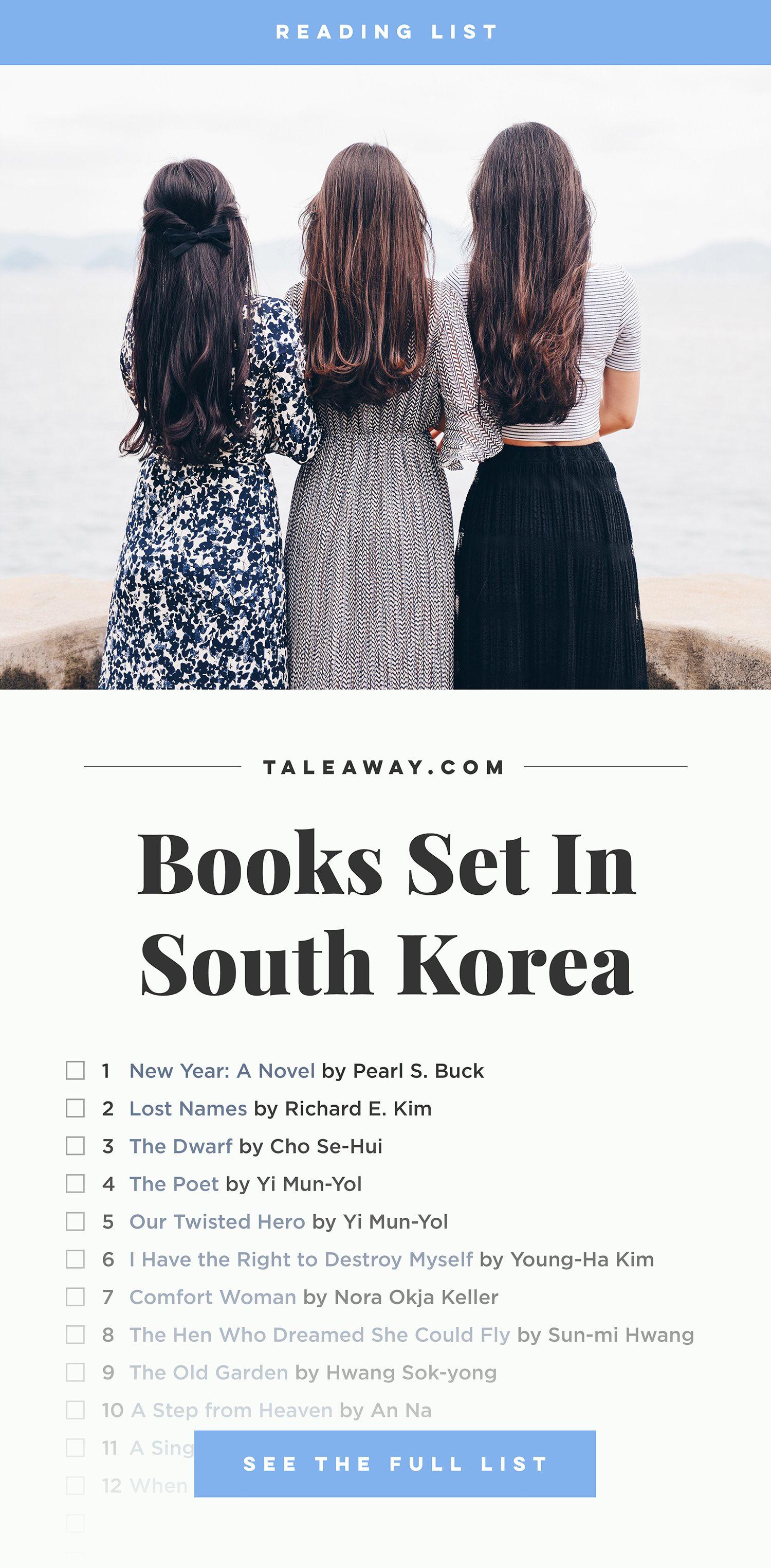 Books Set In Korea South Korean Novels Tale Away Book Set Literature Books Book Challenge