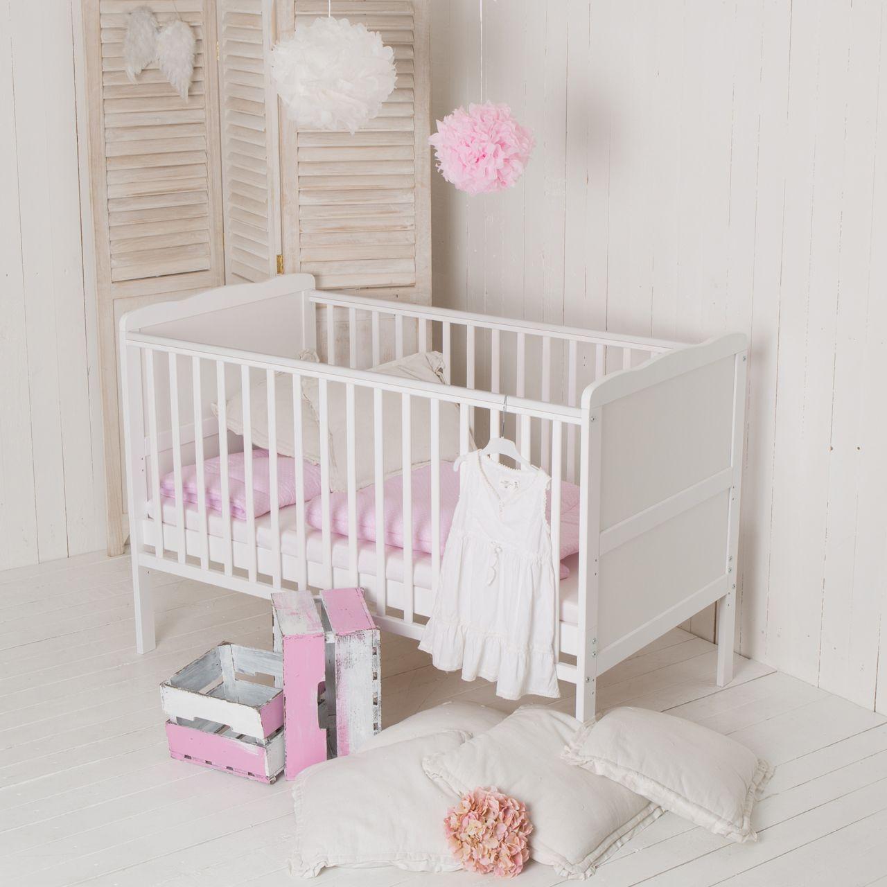 f r s e tr ume puckdaddy babybett wolke 140x70cm und zum kinderbett umbaubar. Black Bedroom Furniture Sets. Home Design Ideas