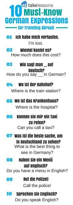 10 MustKnow German Expressions for Traveling Abroad