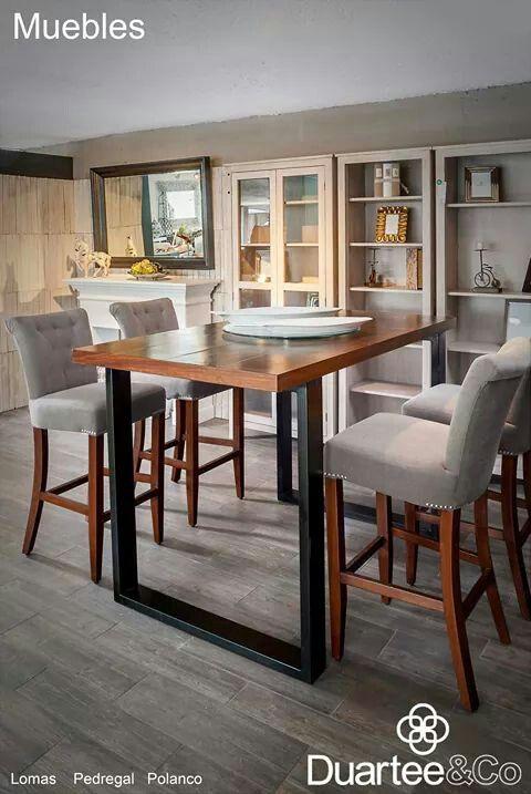 Sillas altas comedor muebles mesas y mesas altas - Mesa alta comedor ...