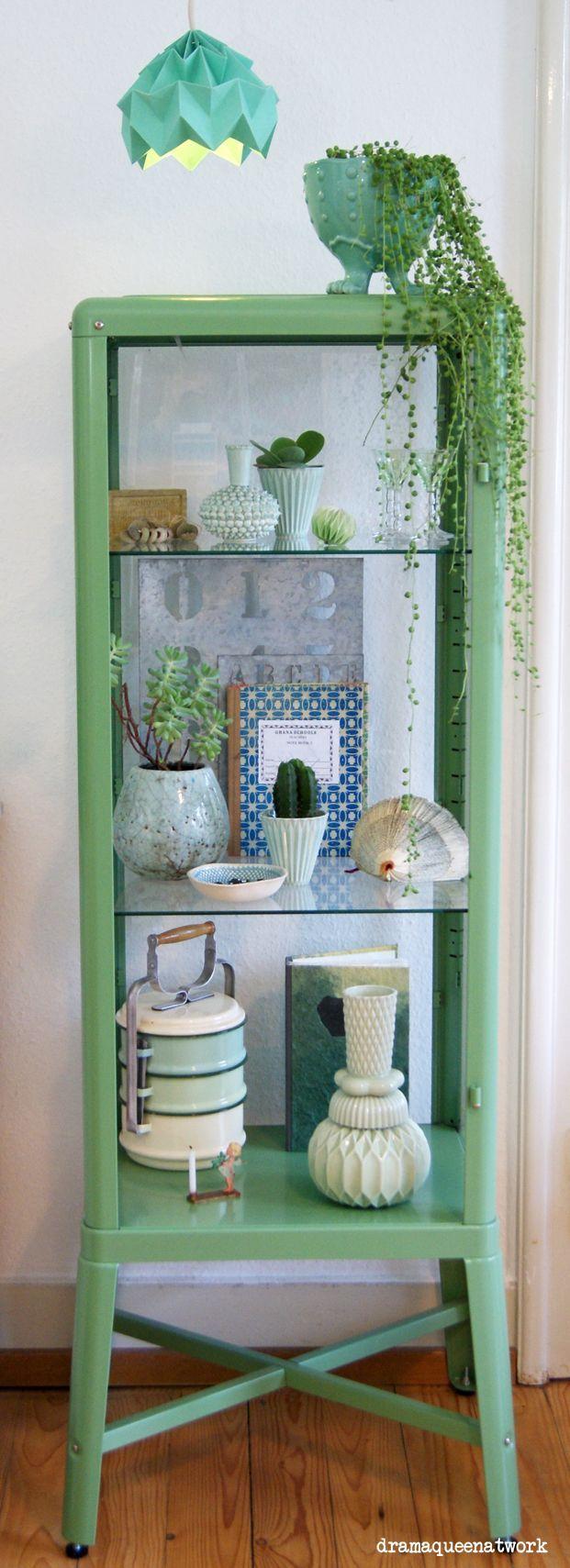 (via (207) My shelfie | Jungles, Ikea Cabinets and Plants)