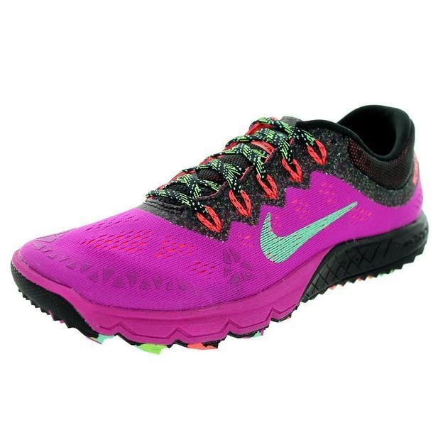 9e5e9f0297aa3 NEW Women s Nike Air Zoom Terra Kiger 2 Fuschia Green Black  Nike   RunningCrossTraining