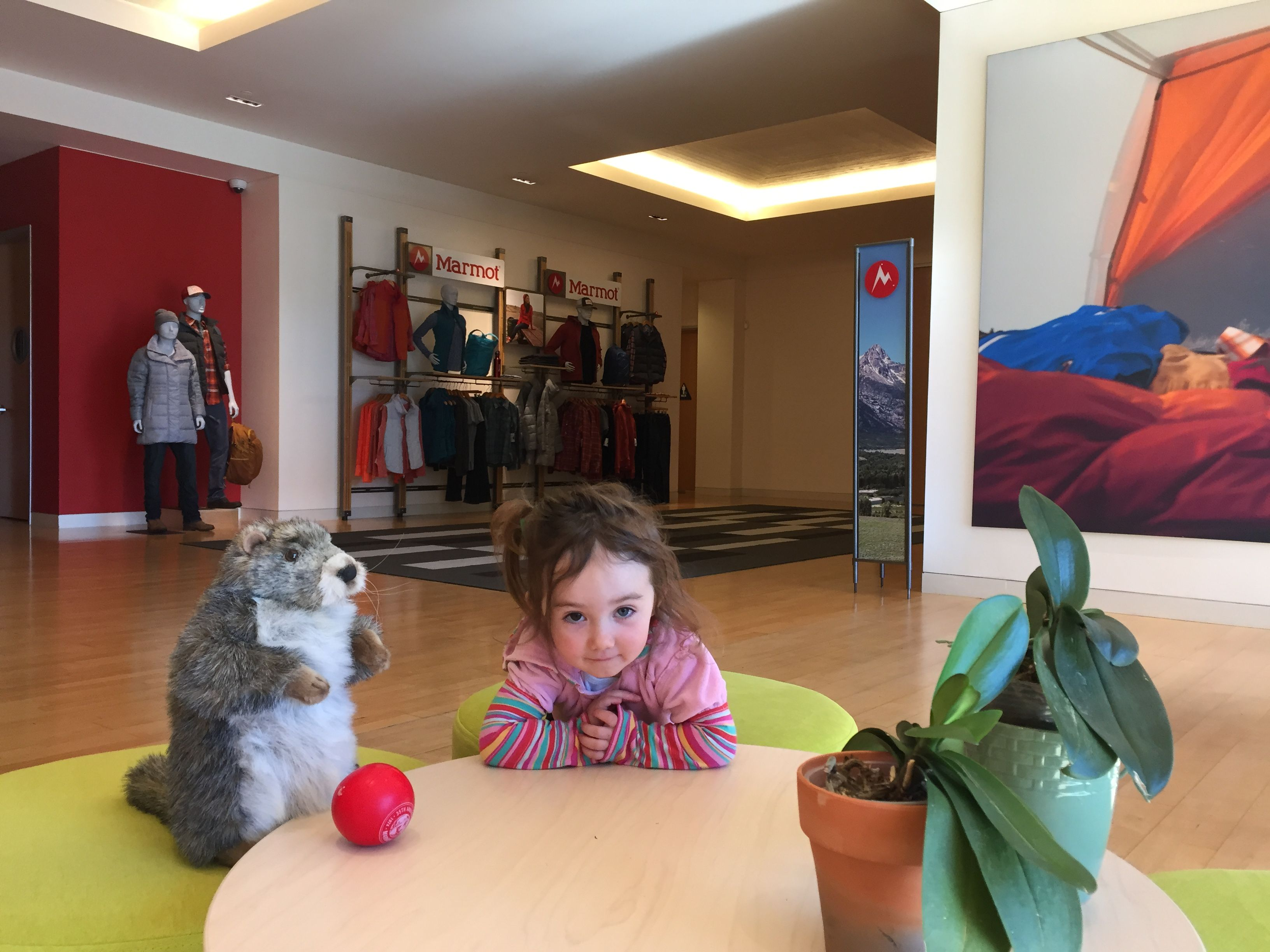 Future Marmot Athlete meets with the Marketing Team at Marmot HQ in California for some serious negotiations #WhatGivesYouLife