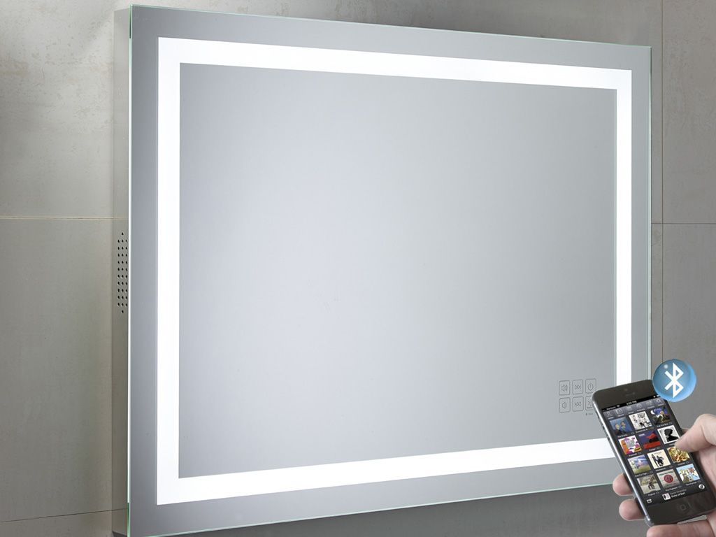 Roper Rhodes Beat Bluetooth Led Illuminated Bathroom Mirror 800mm: Bathroom Mirror: Light Reminds Me Of The One In Sephora