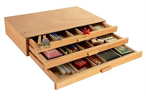 Wooden Artist Box