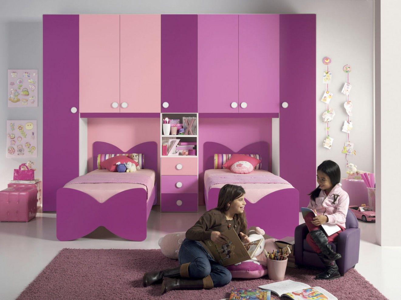 Design camerette ~ Cameretta a ponte barbara #camerette #bedroom #design #furnishing