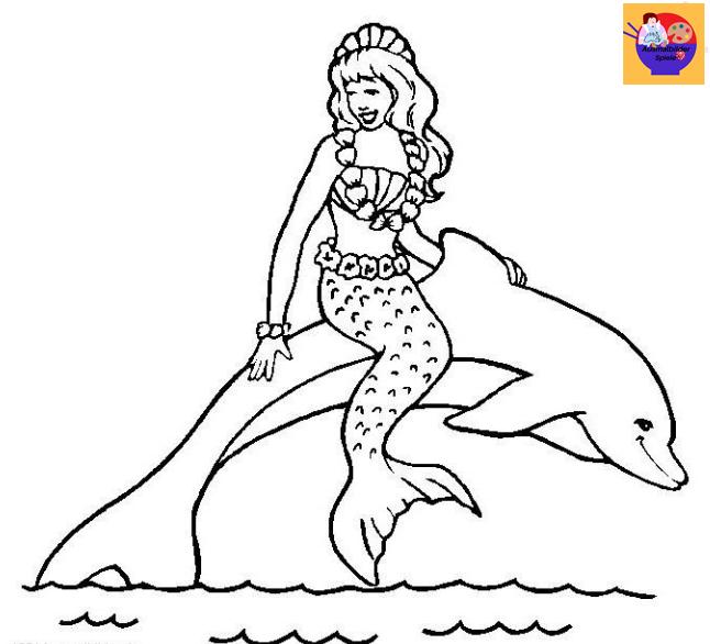 Ausmalbilder Delfine Kinder Ausmalbilderspiele De Malvorlage Prinzessin Ausmalen Malvorlagen Tiere