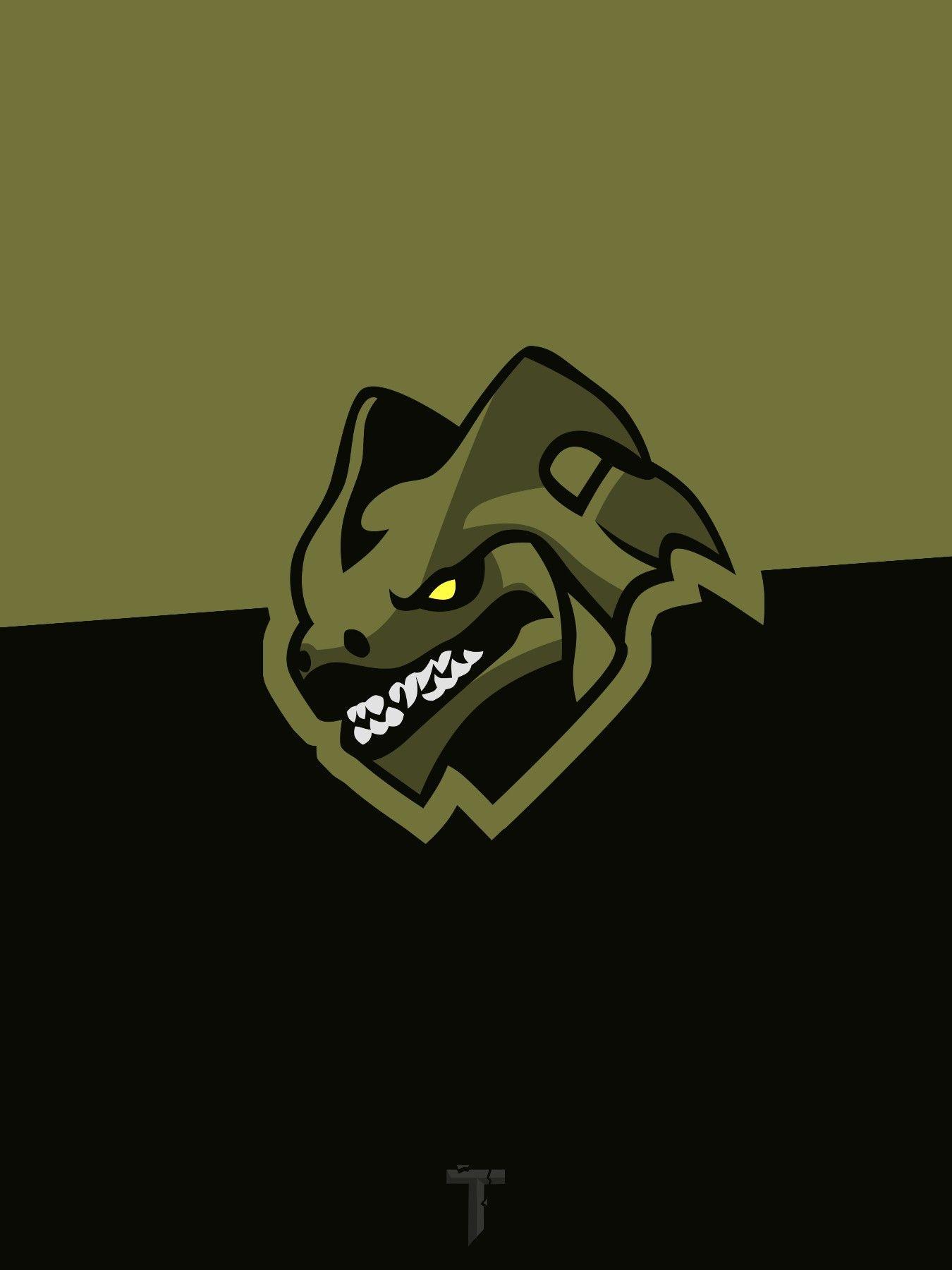 Hybrid Mascot Logo Fortnite Background Wallpaper Png Art Logo