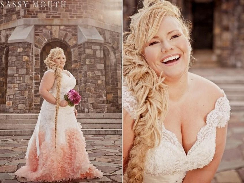 Blush Wedding Dresses Plus Size World Dresses Some Day - Plus Size Blush Wedding Dresses