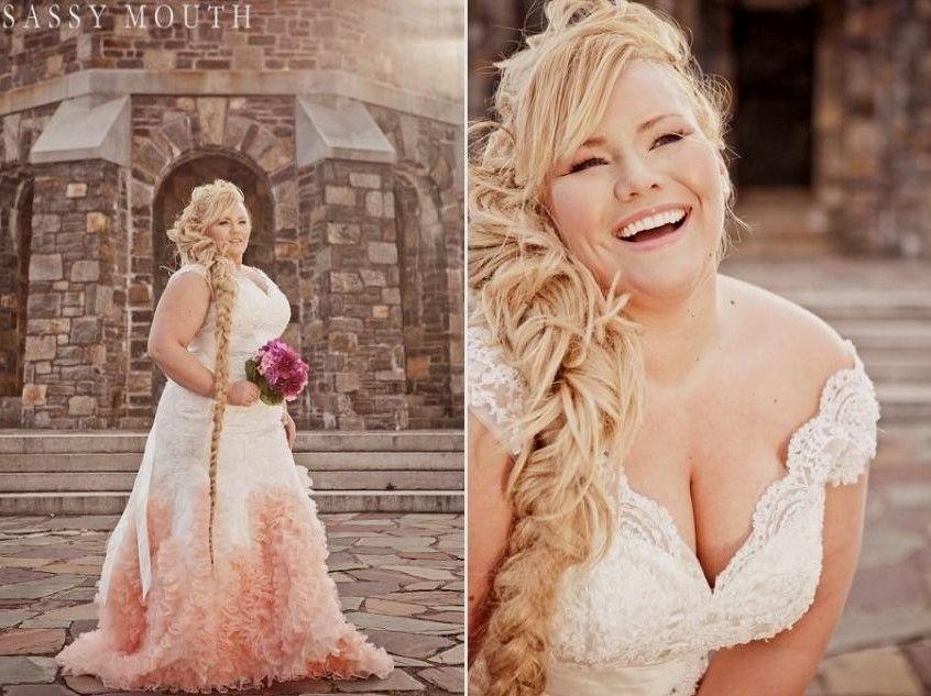 Blush Wedding Dresses Plus Size World Dresses | Some Day ...