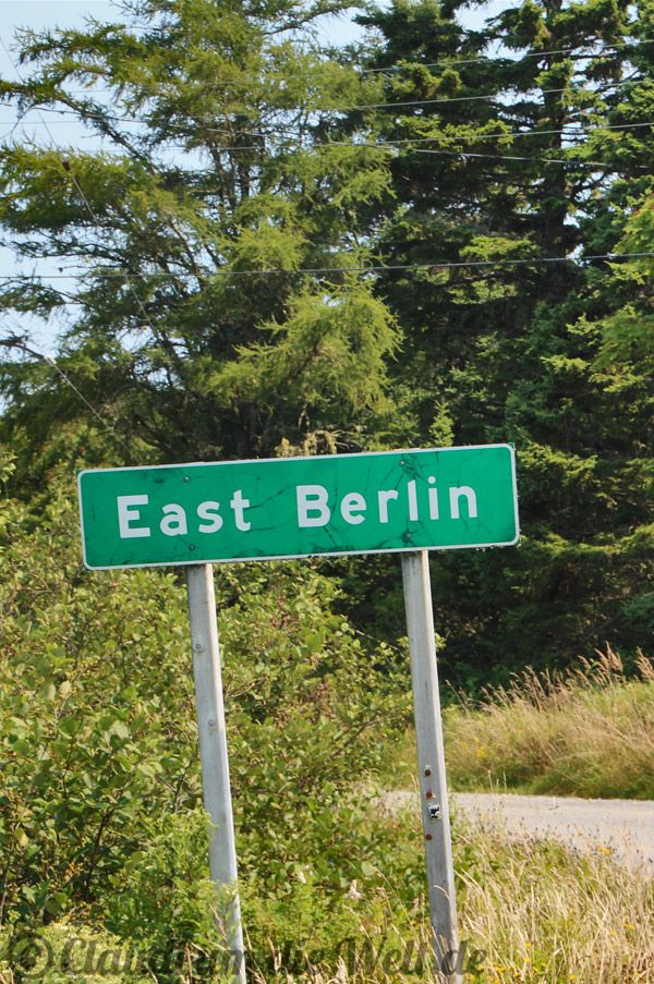 End of the Road: East Berlin, Nova Scotia. Read for more on the blog >>