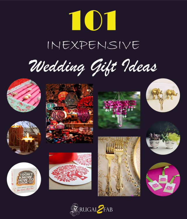 101 Inexpensive Wedding Gift Ideas Coming Up Next