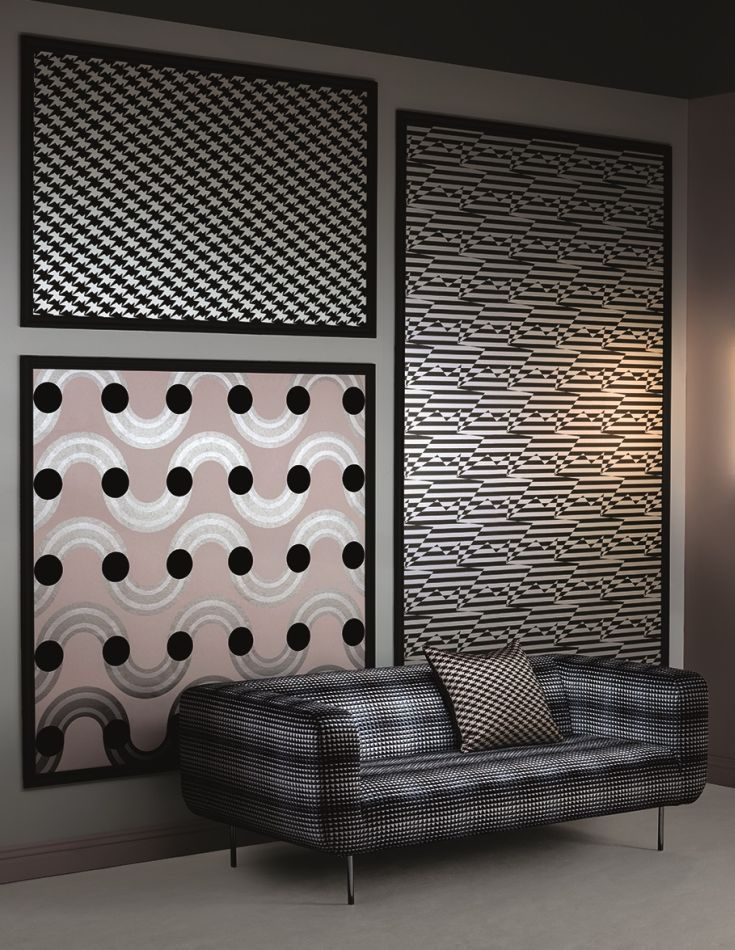 Amazing New Wallpaper Collection Of Graphic And Strong Geometrics By Kirkby Designs