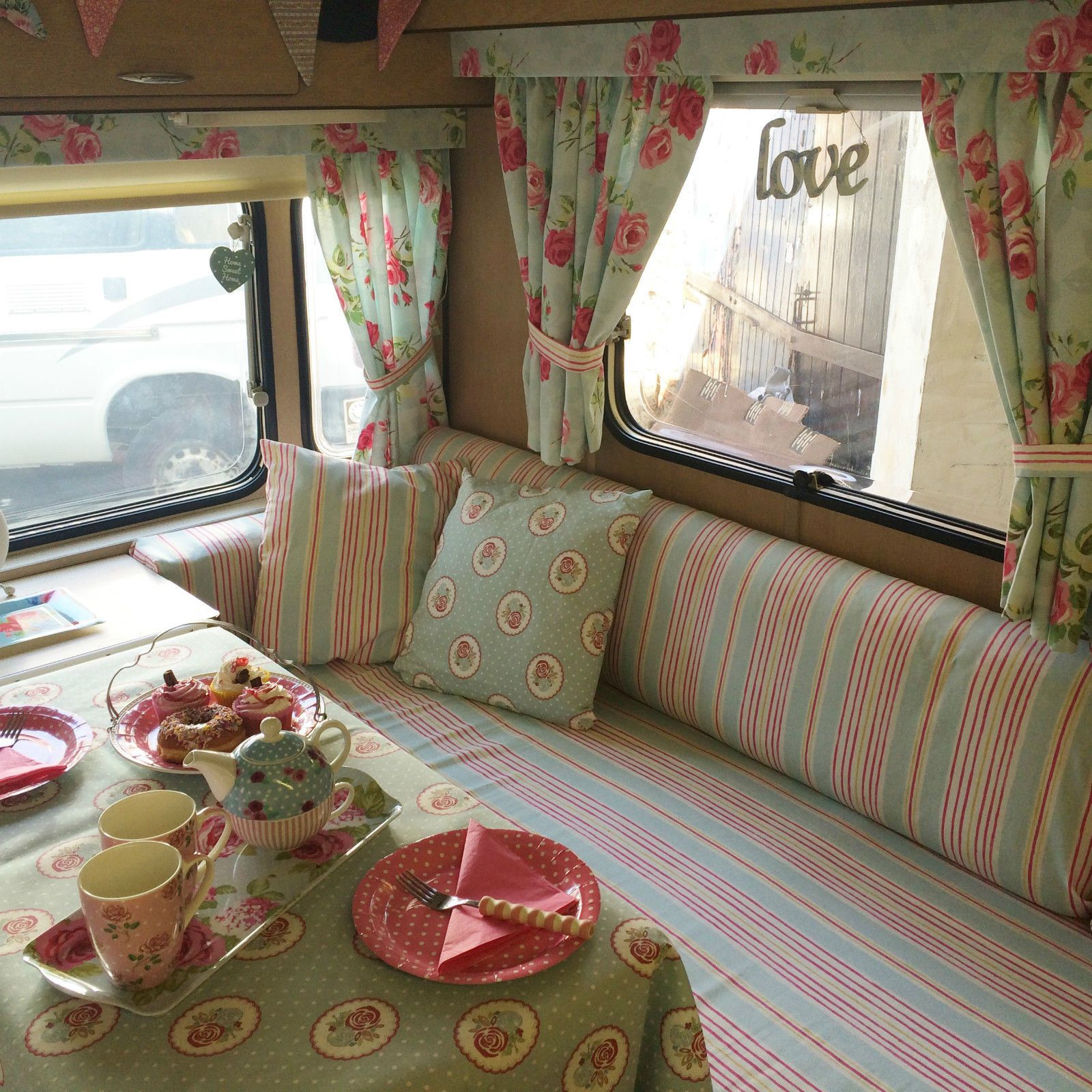 Vintage winchester berth caravan  rare shabby chic festival in cars motorcycles vehicles campers caravans motorhomes ebay also rh pinterest