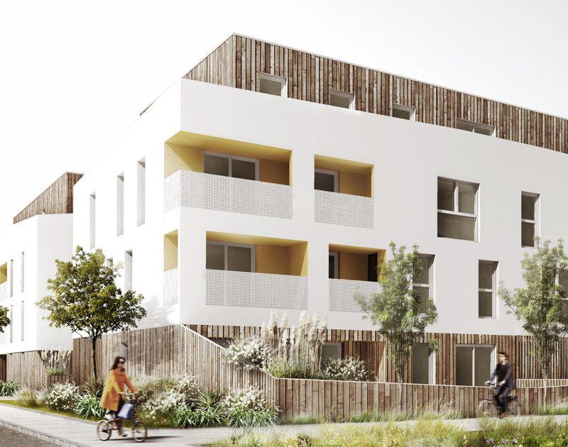 agence d 39 architecture huca elewacja pinterest logement immeuble et fa ades. Black Bedroom Furniture Sets. Home Design Ideas