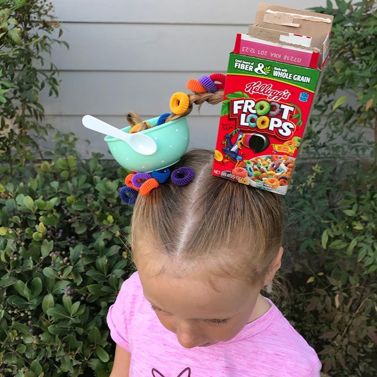 """Totally Rudy on Instagram: """"It's crazy hair day! Thought I'd share a peek into our daily lives"""