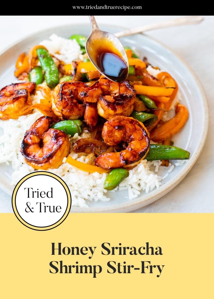 Honey Sriracha Shrimp Stir-Fry