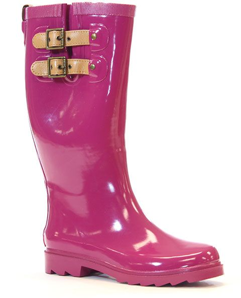 ccaaf27db821 Chooka 'Top Solid' in deep mauve | Chooka Rain Boots | Pinterest ...