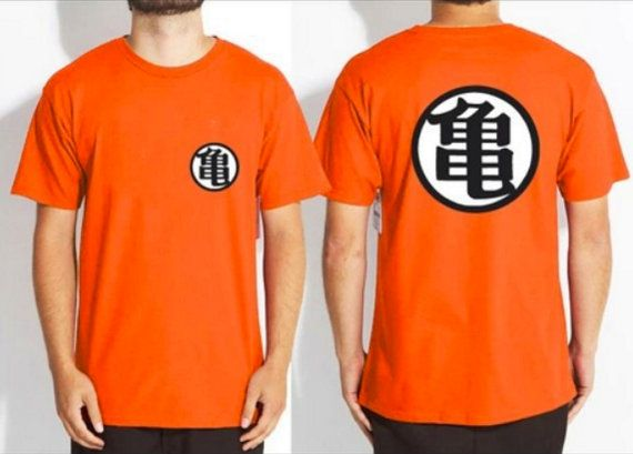 Goku Training T Shirt Dragon Ball Z Tees Dbz Kame Symbol T Shirt