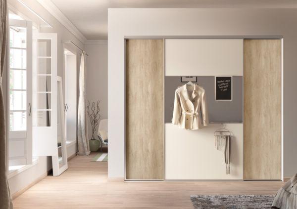 DuoSynchro SOGAL SOGAL TANGUY Matériaux Portes de placard - comment poser des portes de placard