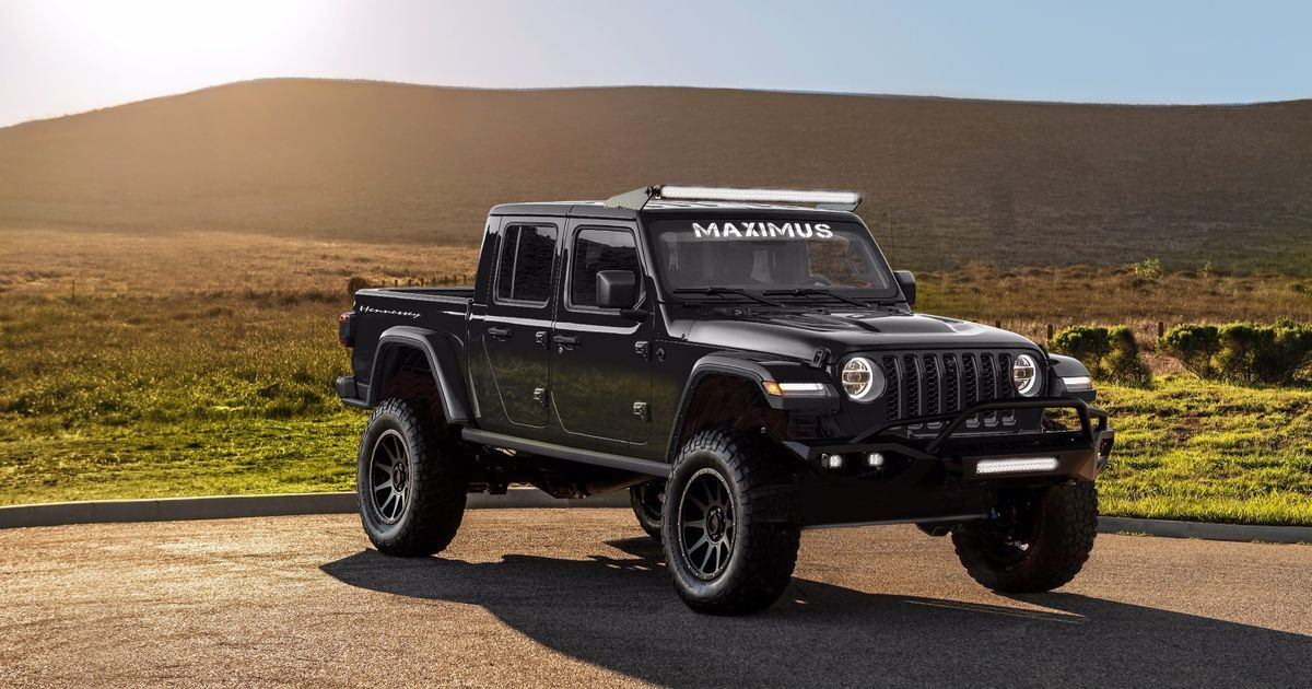 Hennessey Has Stuffed A 1000bhp Hellcat Engine In The Jeep