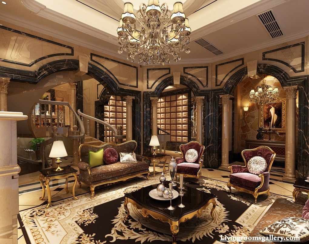 elegant modern POP false ceiling designs for living room