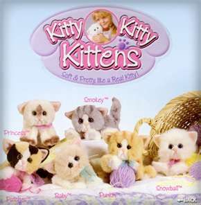 Kitty Kitty Kittens Toy Purring Toy Kitties Loved These