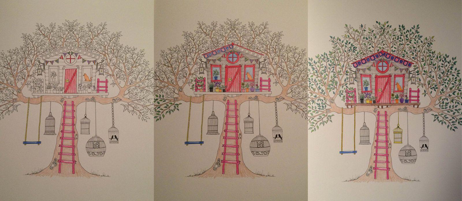 Johanna Basfords Beautiful Colouring Book Secret Garden Artists Edition Is A Delight