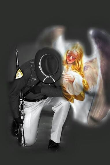 002 WE HAVE ANGELS FOR BACKUP Law enforcement, Police
