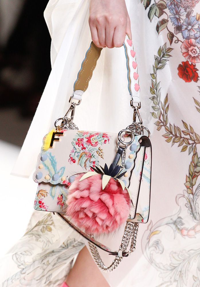 67dfe19c5c31 Fendi s Lovely Spring 2017 Bags Bring Softness to the Brand s Abundant  Accessories
