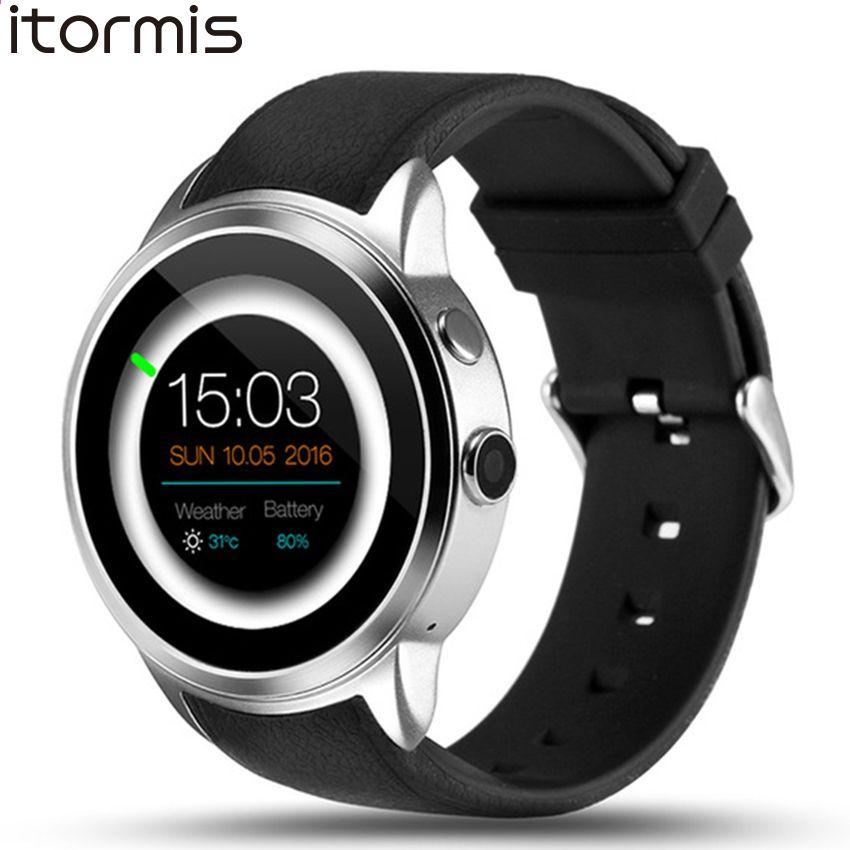 d79b0d20bef2 ITORMIS W500 Android 5.1 Moda reloj inteligente Smartwatch Reloj de pulsera  8G ROM 3G SIM Deporte