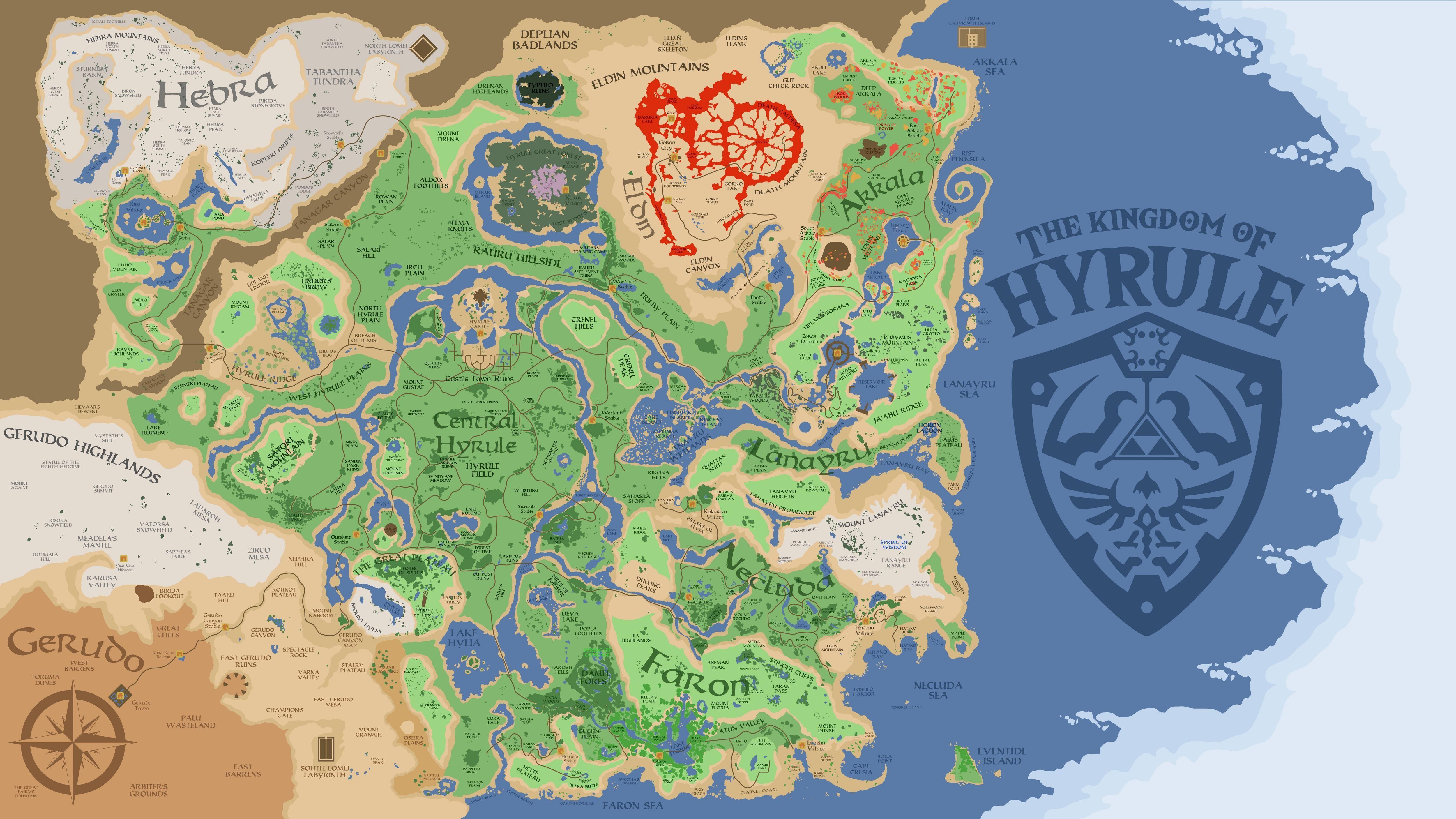 Hyrule Botw Zelda Jeux Zelda Jeux