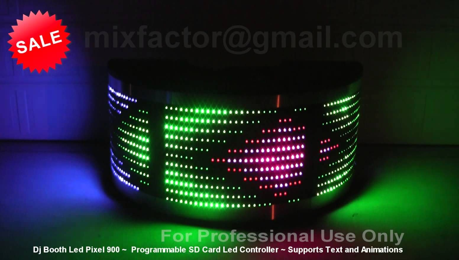 For Sale Brand New Professional Dj Booth Led Pixel