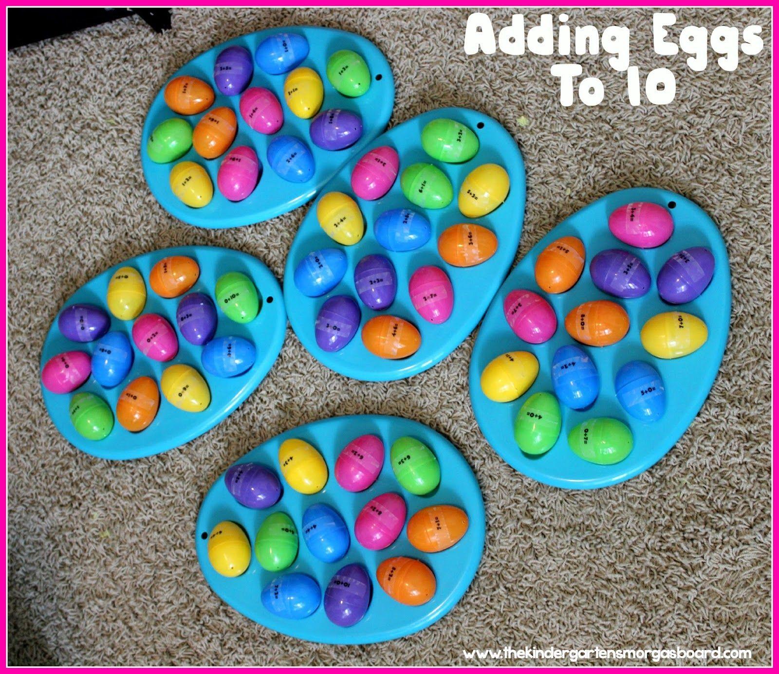 Easter Egg Math Egg Cellent Addition