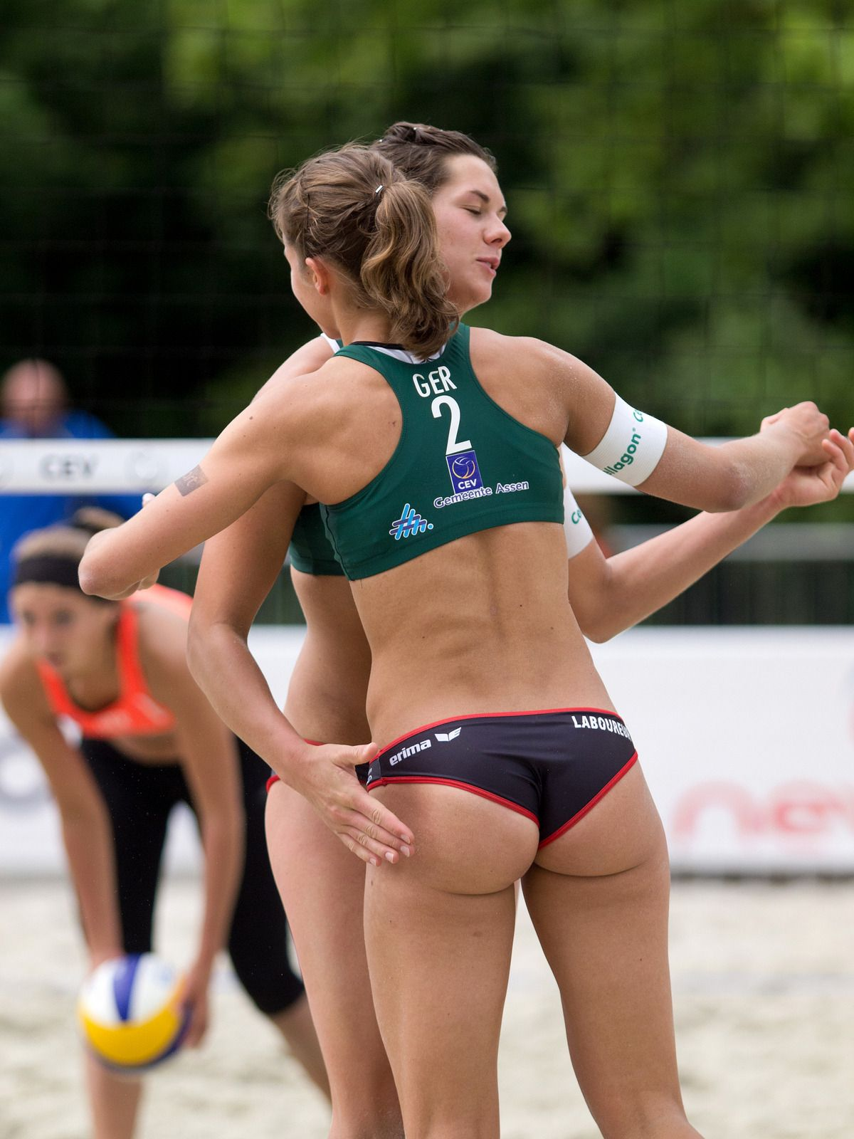 Topless boob junior olympics girls volleyball