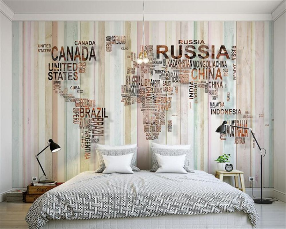 Beibehang 3d wallpaper personality nostalgic world map mural beibehang 3d wallpaper personality nostalgic world map mural background wall living room bedroom tv background mural gumiabroncs Choice Image