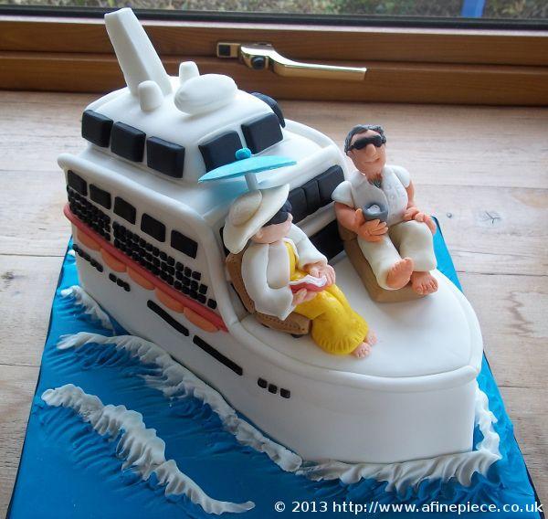 Cruise Ship Cake Topper Google Search Love Cakes Pinterest - Cruise ship cake