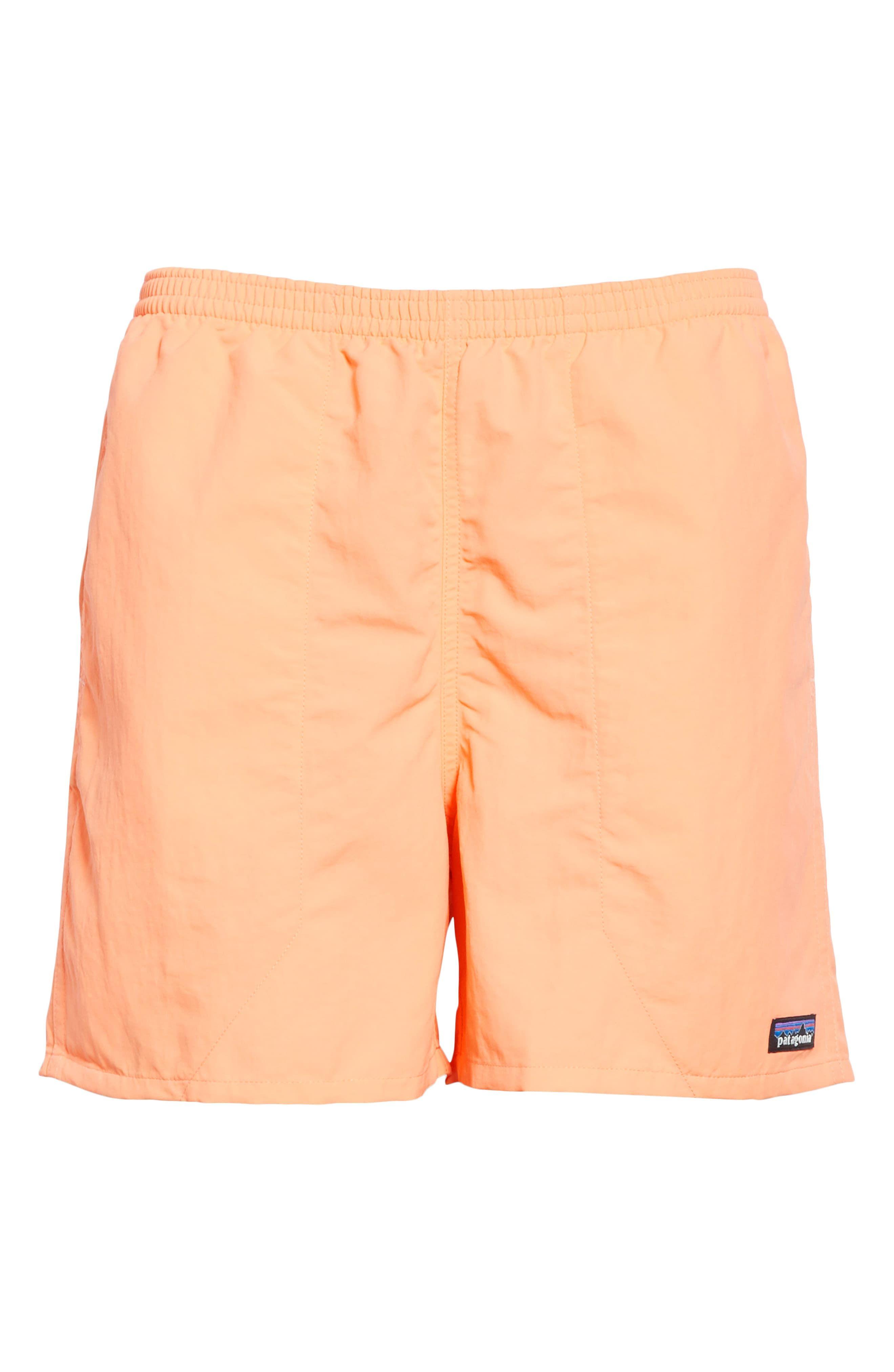 59b413f119 Men's Patagonia Baggies 5-Inch Swim Trunks, Size Small - Orange in ...