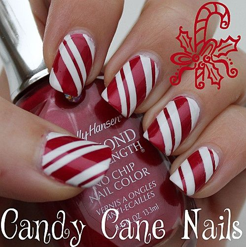 Nail Design Ideas for Winter - Glam Bistro - Nail Design Ideas For Winter Nails Nails, Christmas Nails, Nail Art