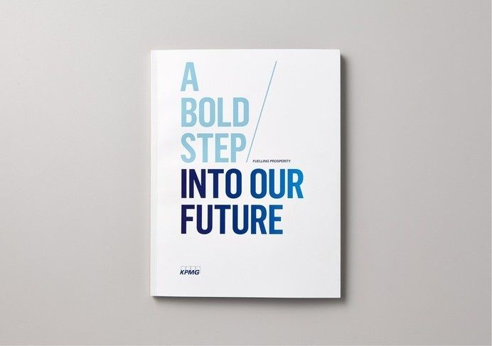 Best Awards Saatchi & Saatchi Design Worldwide. / KPMG Fuelling Prosperity in Editorial design