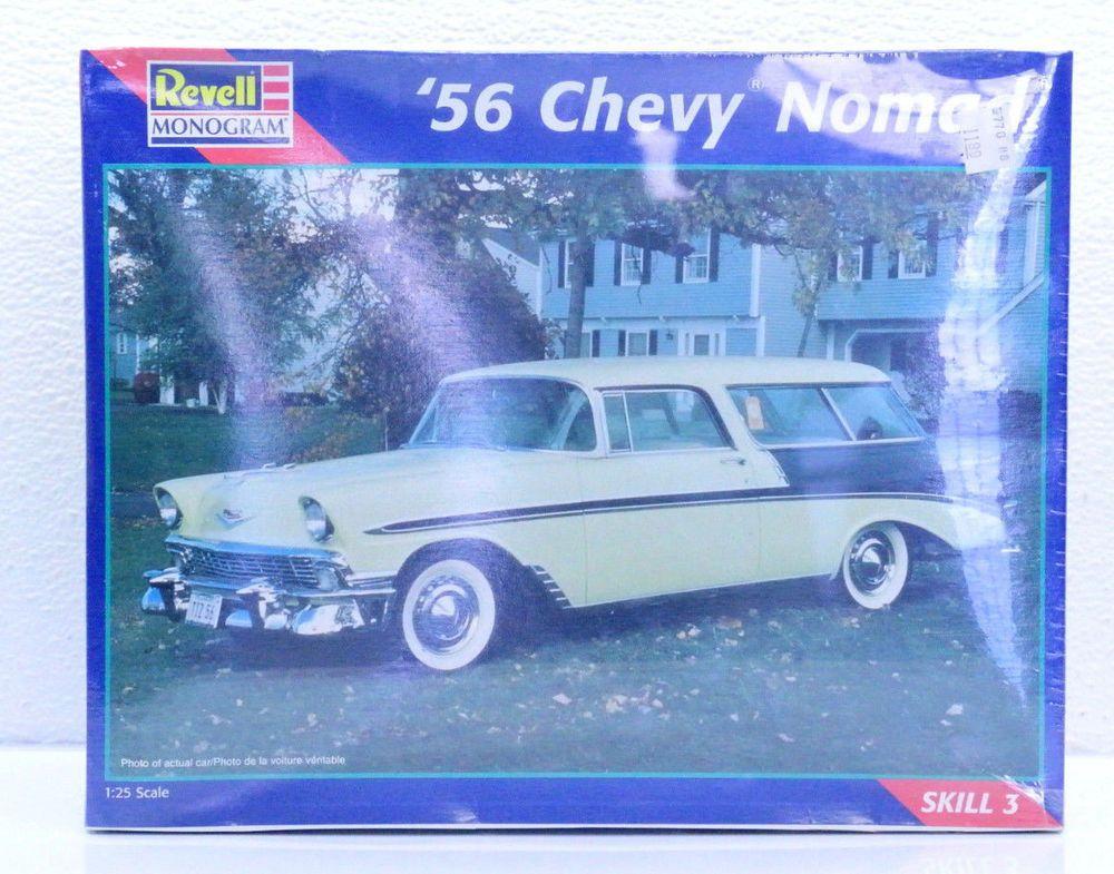 REVELL '56 CHEVY NOMAD STATION WAGON MODEL CAR #85-2489